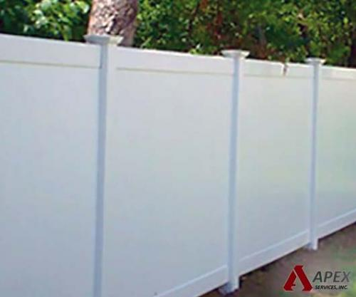 PVC-solid-fence